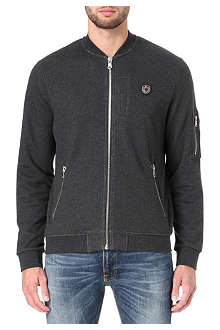 THE KOOPLES SPORT Bomber sweatshirt