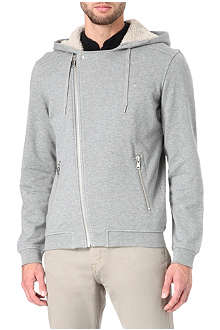 THE KOOPLES SPORT Hooded sweatshirt with fleece lining