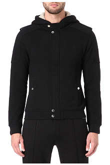 THE KOOPLES SPORT Fleece-lined hooded sweatshirt