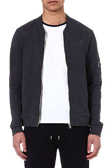 THE KOOPLES SPORT Punk zip-up sweatshirt