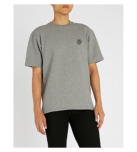 THE KOOPLES Skull-detail cotton-blend T-shirt (Gry30