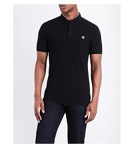 THE KOOPLES SPORT Classic-fit cotton polo shirt (Blaa7