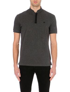 THE KOOPLES SPORT Stand-collar polo shirt