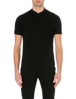 THE KOOPLES SPORT Stand-collar polo shirt