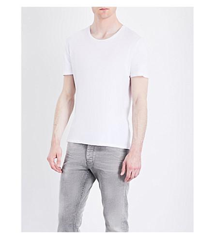 THE KOOPLES Crewneck cotton T-shirt (Whi01