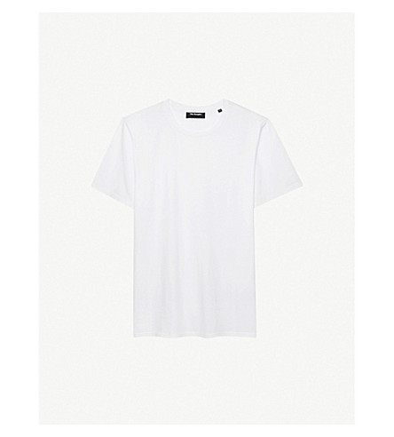 THE KOOPLES Crewneck cotton-jersey T-shirt (Whi01