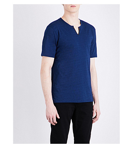 THE KOOPLES Crewneck cotton T-shirt (Blu20