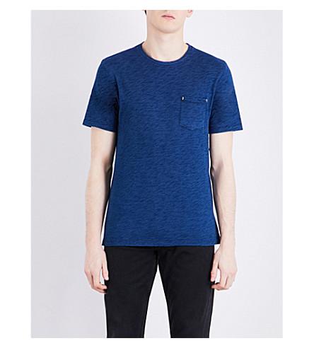 THE KOOPLES Crewneck cotton T-shirt (Blu20