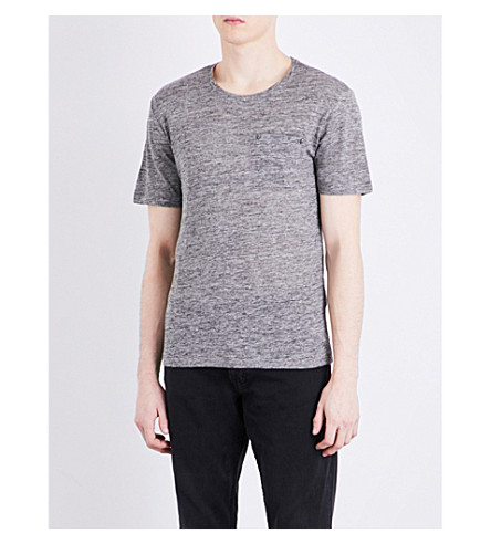 THE KOOPLES Crewneck cotton T-shirt (Gry23