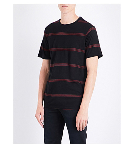 THE KOOPLES Striped jersey T-shirt (Bla22