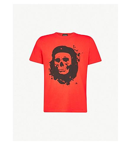 THE KOOPLES Silk-screened t-shirt (Ora02