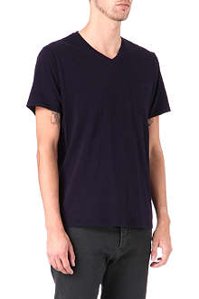 THE KOOPLES V-neck t-shirt with chest pocket