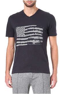 THE KOOPLES SPORT American flag t-shirt