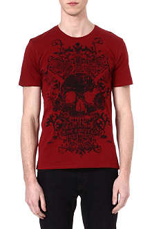 THE KOOPLES Vikings skullhead t-shirt