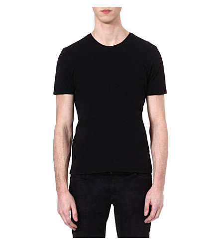 THE KOOPLES Embroidered initials t-shirt (Black