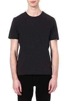 THE KOOPLES Leather neckline t-shirt