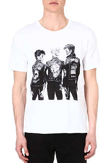 THE KOOPLES Punk-print t-shirt