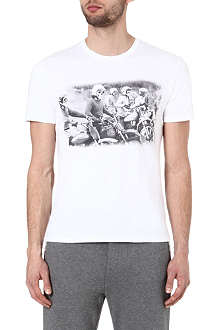 THE KOOPLES SPORT Motor riders t-shirt