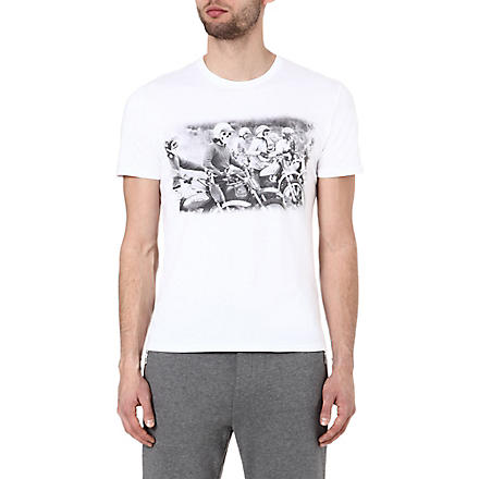THE KOOPLES SPORT Motor riders t-shirt (White