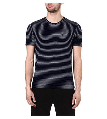 THE KOOPLES SPORT Striped t-shirt (Dark navy / white