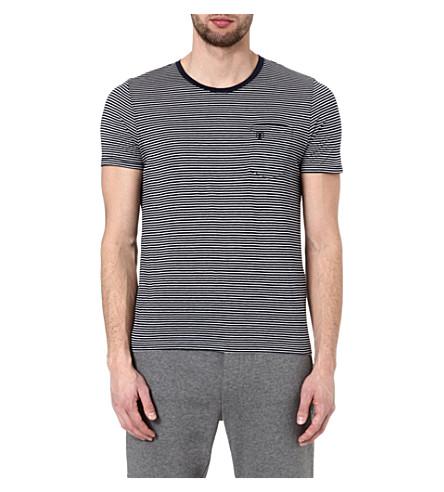 THE KOOPLES SPORT Striped t-shirt (Dark navy / white