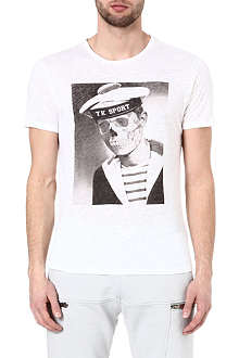 THE KOOPLES SPORT Skullhead sailor t-shirt