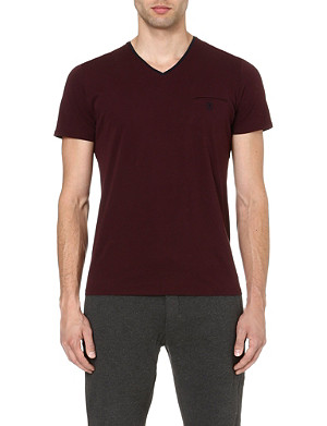 THE KOOPLES SPORT Embroidered-pocket t-shirt