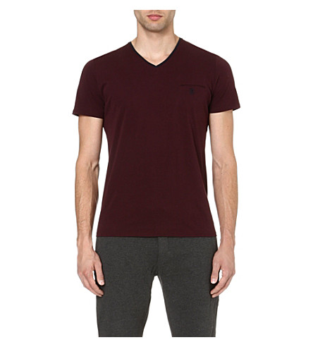 THE KOOPLES SPORT Embroidered-pocket t-shirt (Navy