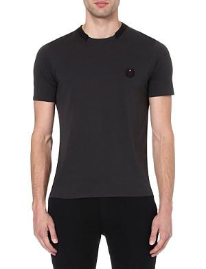 THE KOOPLES SPORT Cutaway-collar t-shirt