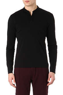 THE KOOPLES SPORT Chest-pocket Henley top