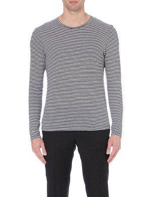 THE KOOPLES Long-sleeved striped jersey top