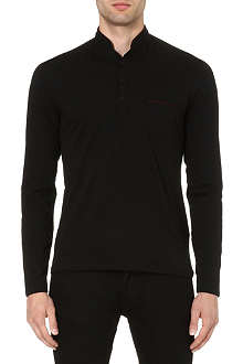 THE KOOPLES SPORT Stand-collar long-sleeved top