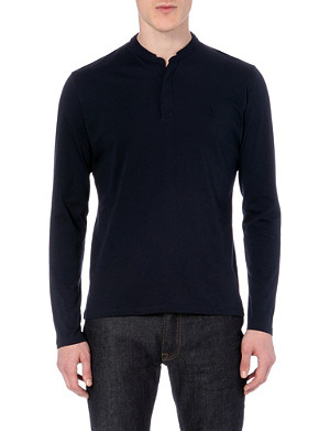 THE KOOPLES SPORT Henley long-sleeved jersey top