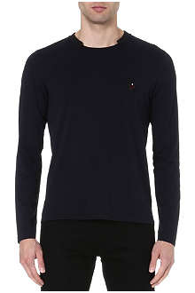 THE KOOPLES SPORT Emblem long-sleeved top