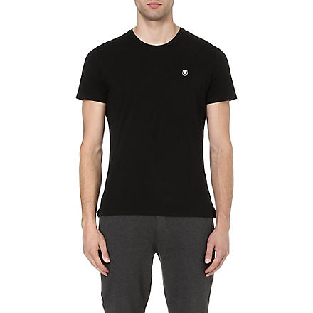 THE KOOPLES SPORT Embroidered-pocket t-shirt (Black