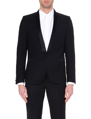 THE KOOPLES Satin-lapel tuxedo jacket