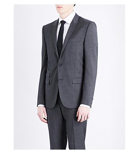 THE KOOPLES Slim-fit wool jacket (Gry01
