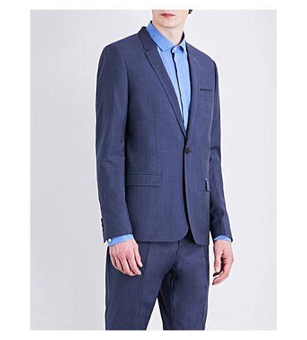 THE KOOPLES Slim-fit woven jacket (Blu01