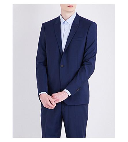 THE KOOPLES Slim-fit woven jacket (Blu29