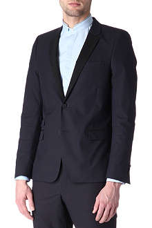 THE KOOPLES Contrast-trim blazer