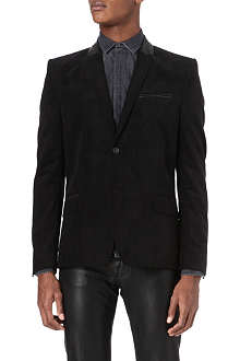 THE KOOPLES Fitted corduroy suit jacket