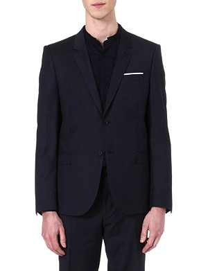 THE KOOPLES Adjusted pinpoint suit jacket