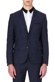 THE KOOPLES Slategrey wool suit jacket