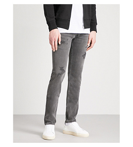 THE KOOPLES Slim-fit skinny mid-rise jeans (Bla08
