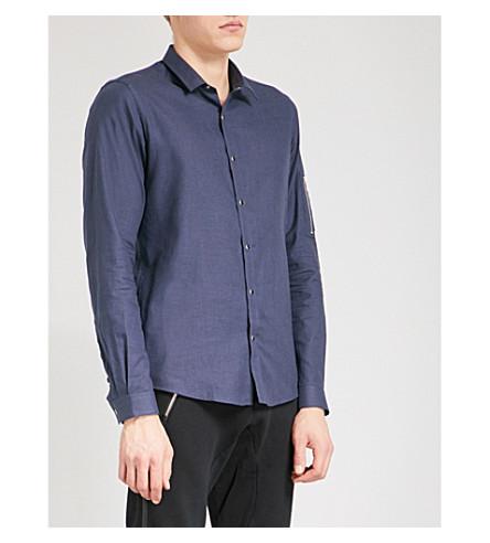THE KOOPLES Slim-fit cotton shirt (Blu20