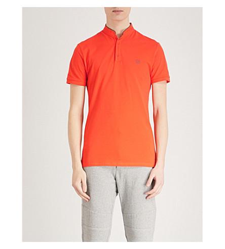 THE KOOPLES Officer-collar cotton polo shirt (Oraa7