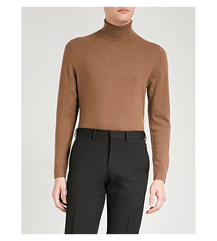 THE KOOPLES Turtleneck cashmere jumper (Cam01