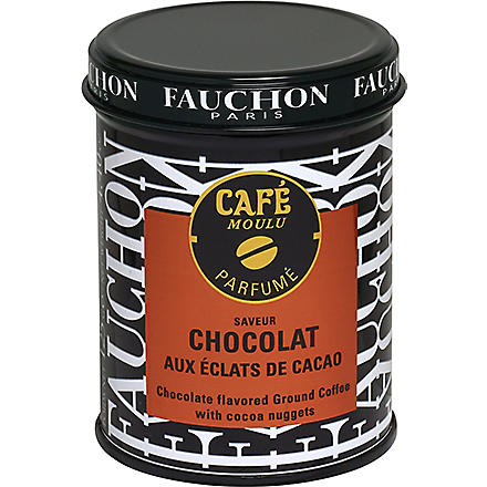 FAUCHON Chocolate-flavoured ground coffee 125g