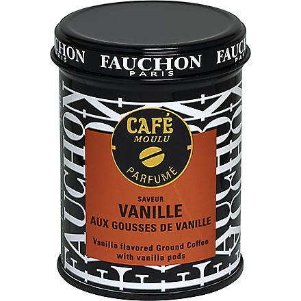 FAUCHON Vanilla ground coffee 125g