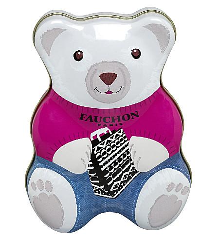 FAUCHON Teddy Bear tin of candies 158g